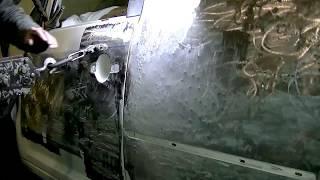 Рихталау Фольксваген Кадди - екі еселенген соққы.4-бөлім. Кузовной ремонт. BODY REPAIR