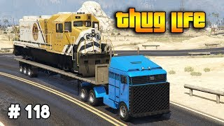 GTA 5 ONLINE : THUG LIFE AND FUNNY MOMENTS (WINS, STUNTS AND FAILS #118)