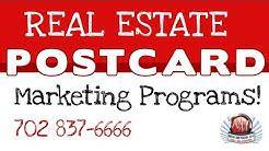 Real Estate Postcard Marketing Program 702 837-6666