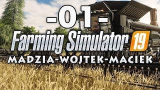 Farming Simulator 19 #01 - Youtuberzy wracają na wieś /w Gamerspace, Undecided