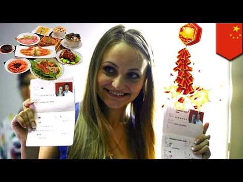 Hot Russian wife experiences very first Chinese New Year!