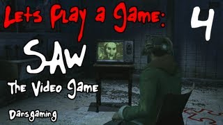 Let's Play Saw - Part 4- The Video Game - Dansgaming HD Walkthrough