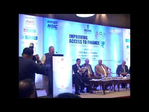 Improving - Access to Finance N.Delhi Assocham Part-2