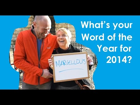 What's your Word of the Year for 2014?