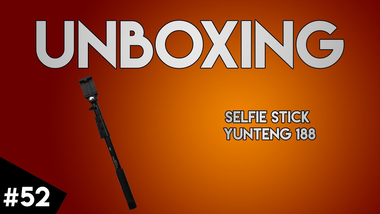 unboxing 52 selfie stick yunteng 188 2 cadouri youtube. Black Bedroom Furniture Sets. Home Design Ideas