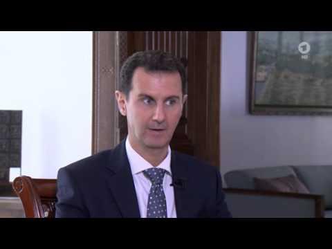 Bashar al-Assad im ARD-Interview (deutsch) Weltspiegel extra, 01.03.2016