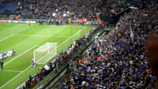 Schalke gegen Inter Mailand Stimmung Nordkurve 13.04.2011 Lieder Nordkurve