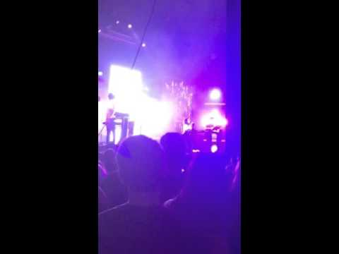 Chvrches - The Mother We Share/Lauren passes out candy -Live on Halloween St. Pete, FL 10.31.15
