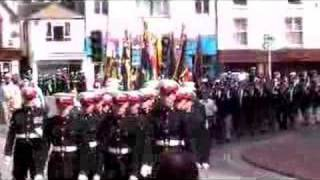 Falkland Islands remembrance parade Exmouth 20 May 2007