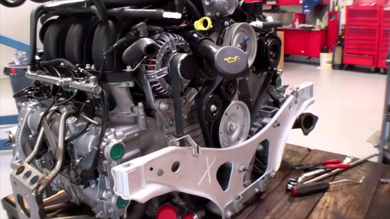 Porsche 996 Engine Swap European Car Repair Shop Dallas Plano Tx Youtube