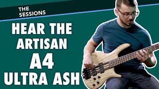 Hear the Cort Artisan A4 Ultra Ash