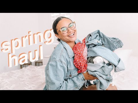 spring-clothing-haul-+-pregnancy-outfit-ideas