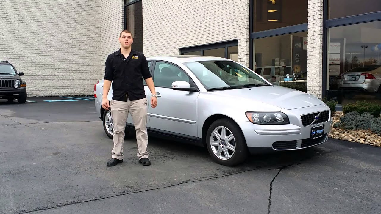Jared is thrilled with his Pre Owned Volvo S40 purchased at Ken