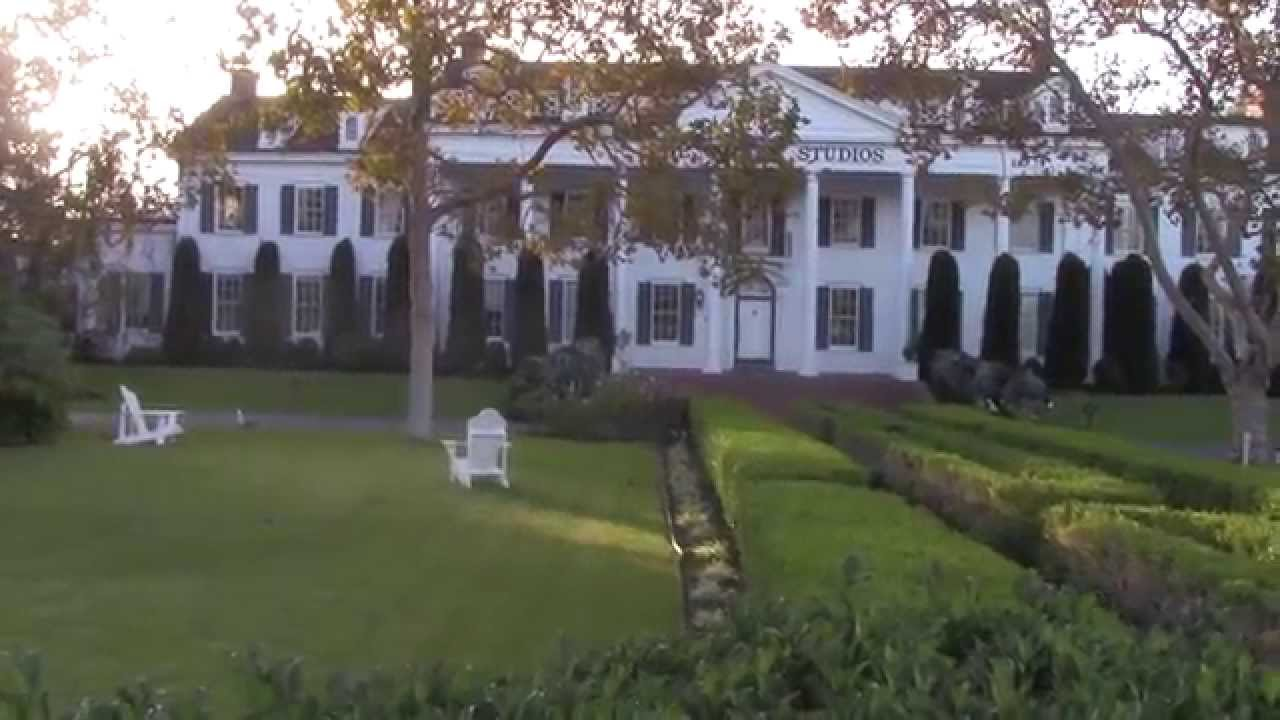 Where Gone With The Wind Was Filmed - YouTube