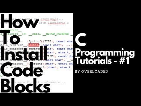 How To Install CodeBlocks - C Programming Tutorials #1 thumbnail