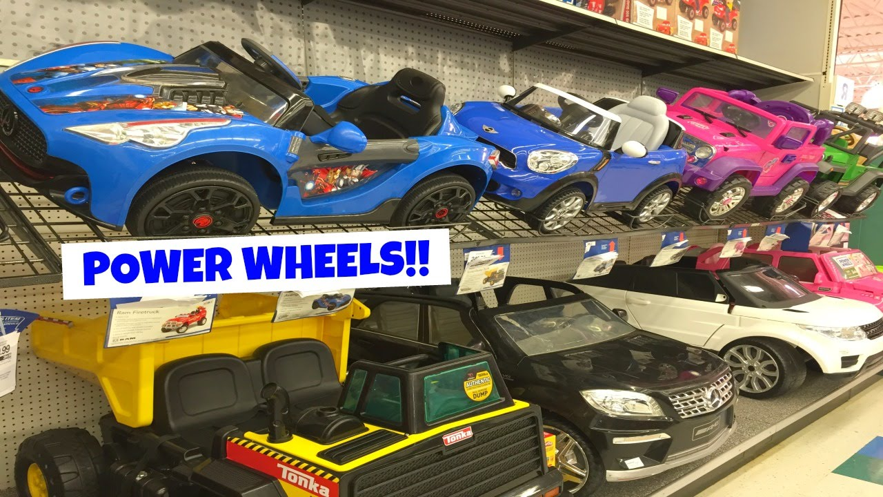 Boy Toys Toys R Us Aisles : Power wheels toy aisle at toys r us youtube