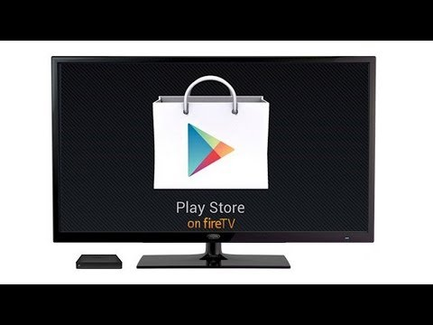 How to install the Google Play Store on the Amazon Fire TV