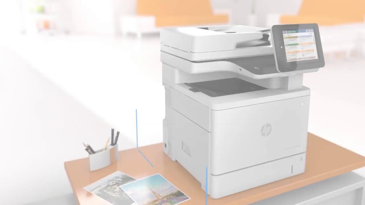 HP Color LaserJet Enterprise Flow MFP M577z B5L48A highlights ...