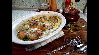 Курица в горчичном соусе с грибами ( по рецепту  от Andy chef)