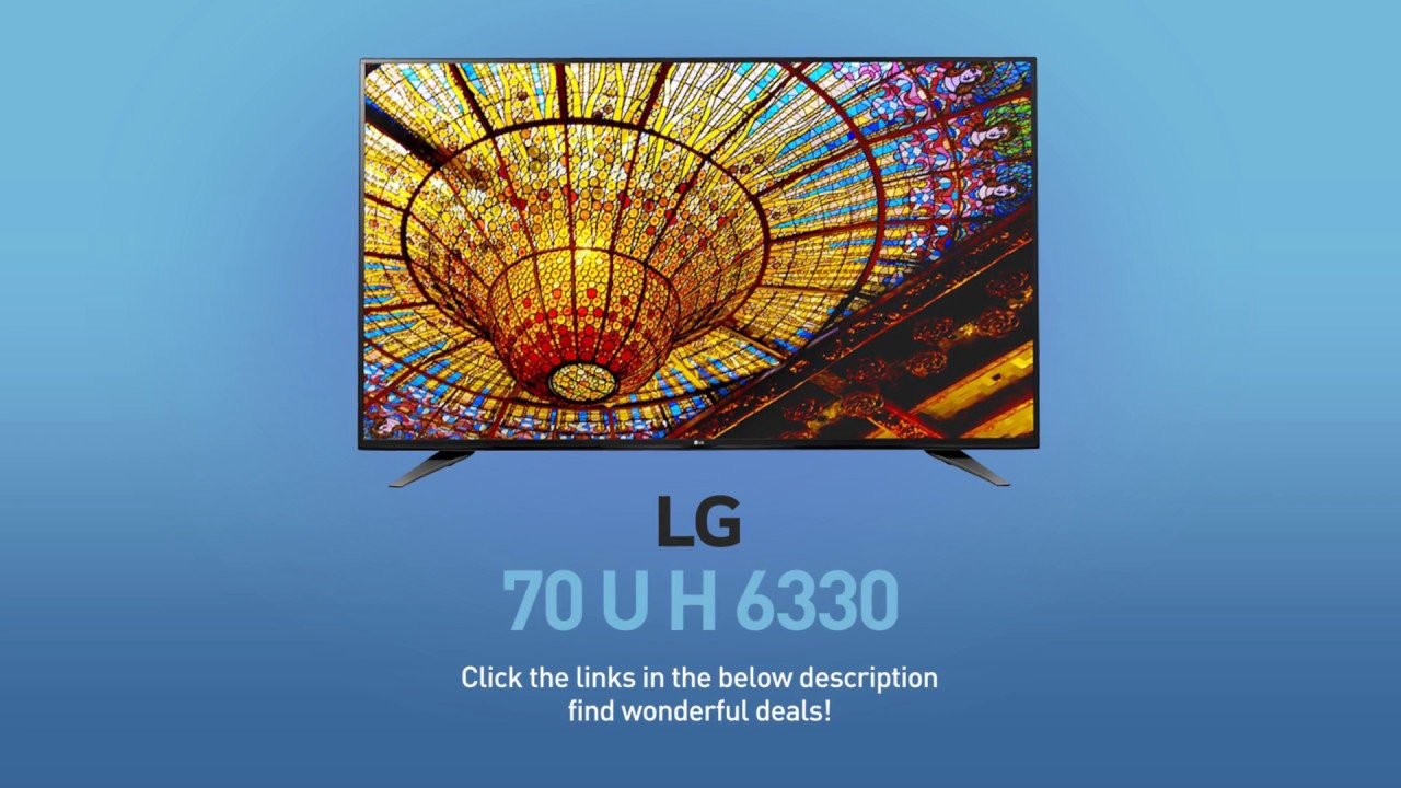 LG 70UH6330 4K UHD Smart LED TV - 70