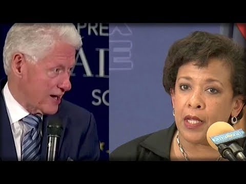 JUSTICE IS SERVED: WHAT THE FBI JUST ANNOUNCED HAS BILL CLINTON AND LORETTA LYNCH SWEATING BULLETS