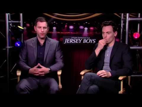 Erich Bergen and Michael Lomenda on being cast for Clint Eastwood's 'Jersey Boys'