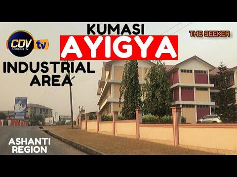 Kumasi - Ayigya Industrial Area Drive via CCC Church Headquarters, Ghana: Enjoy the ride with Seeker
