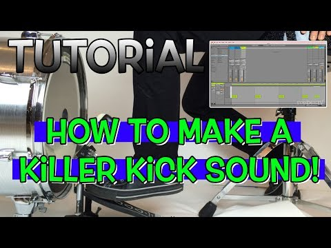 Tutorial – How to Make A Great Kick Drum Sound in Ableton | FordeeTV