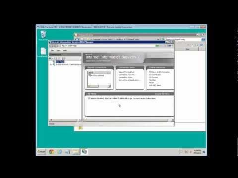 IIS Shared Configuration - Week 28
