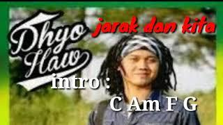 CHORD KUNCI GITAR LIRYC DHYOHAW JARAK DAN KITA