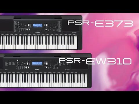 Yamaha PSR-E373/PSR-EW310/YPT-370Overview Video