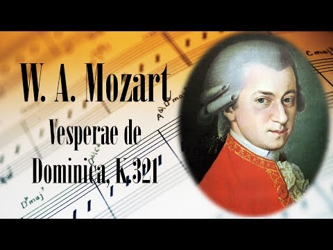 🎼 W. A. Mozart Vesperae de Dominica, K.321 | Mozart Classical Music for Relaxation and Studying
