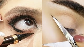 ✨Best Makeup Tutorials 2018 | How to apply Eyeliner! 23 Liner Styles for Beginners | Woah Beauty