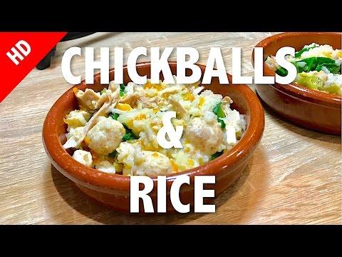 CHICKBALLS & RICE - Healthy Dog Food Recipe