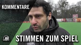 Die Stimmen zum Spiel (FC Viktoria Köln II - SG Köln-Worringen, Testspiel) | RHEINKICK.TV