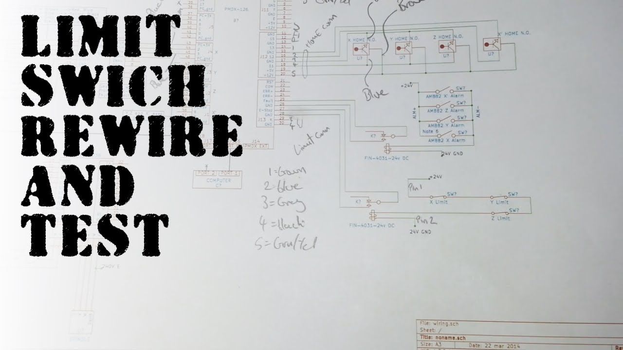maxresdefault limit switch rewire and test diy cnc youtube cnc limit switch wiring diagram at pacquiaovsvargaslive.co
