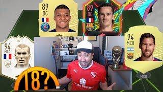 Mi FUT DRAFT RECORD con ICONOS en FIFA 20