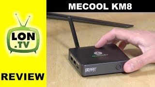 MECOOL KM8 Android TV Box Review - Not Quite Certified
