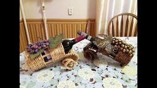 Мастер класс 5 Подставка для вина