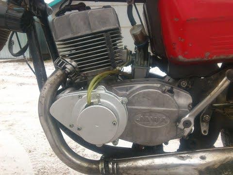 Двигатель Ява (JAWA) 350/638 тест 22.11.2018 после капремонта (г. Киров)