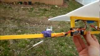 Rc Plane Scratch Build Foam And Balsa - Minimus