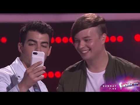 The Voice Australia Joe Jonas 2018