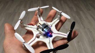 MINI DRONE CASERO PARTE 1 - MINI DRONE HOME PART 1