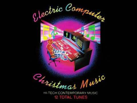 Electronic Computer Christmas Music  What Child Is This