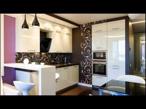 Дизайн кухни с гостинной и столовой 20 кв. м Три в одном !