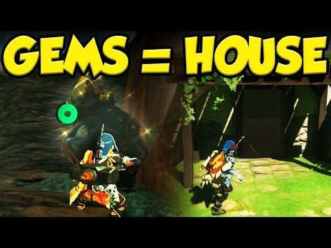 How I Bought a House in Legend of Zelda Breath of the Wild! Playthrough