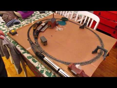 A Simple Train Set Model Railway Layout – Home Wood