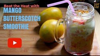 Mango Butterscotch Smoothie Recipe