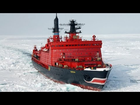 The biggest nuclear icebreakers in the world