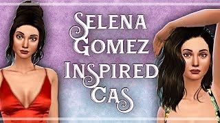 Selena Gomez Inspired CAS + CC LIST - The Sims 4